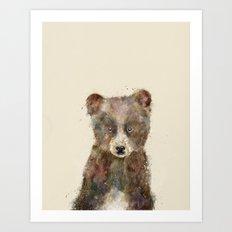little brown bear Art Print