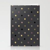 polka dots Stationery Cards featuring Polka Dots by Madison Hartquist