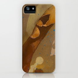 joelarmstrong_rust&gold_093 iPhone Case