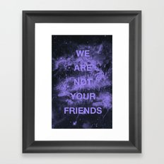 WANYF Framed Art Print