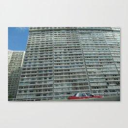 HK eastern corridor Canvas Print