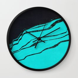 Cineraria Wall Clock