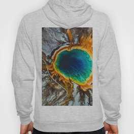 Grand Prismatic Spring, Yellowstone Hoody
