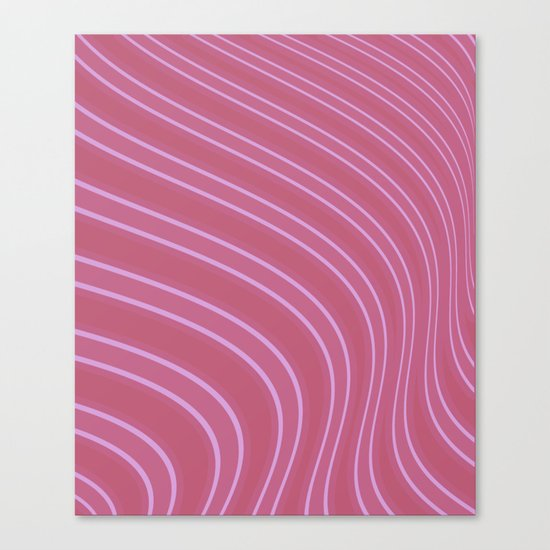 Abstract purple pattern . Canvas Print