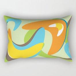 Boomerama Rectangular Pillow