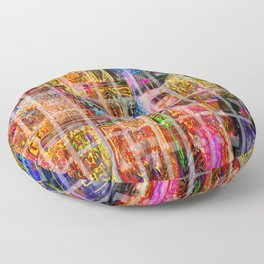 Caged Late Floor Pillow