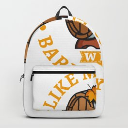 I Like My Water With Barley & Hops - Home Brewing Backpack
