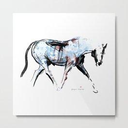 Horse (Wandering) Metal Print