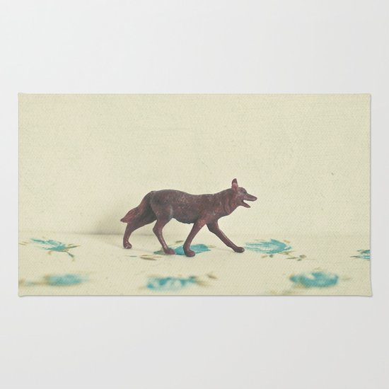 Wandering Wolf Rug