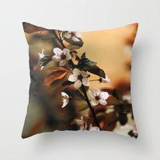 Cherry Blossom 3 Throw Pillow