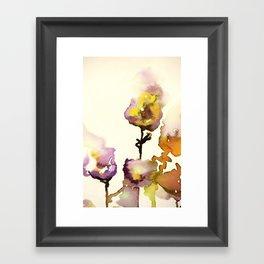 Flowers #2 Framed Art Print