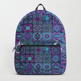 V14 Traditional Moroccan Pattern ART Design. Backpack
