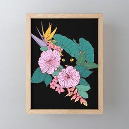 Hibiscus Framed Mini Art Print