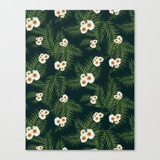 Gloomy Jungle Pattern #society6 #decor #buyart Canvas Print