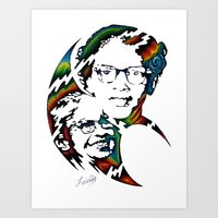 parks Art Prints featuring Rosa Parks by A Laidig