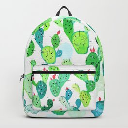 Watercolour Cacti Backpack