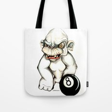 White Monkey Tote Bag