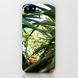 Sunlight in plantation  iPhone Case