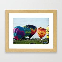 Balloon Festival Indianola, Iowa 2 Framed Art Print