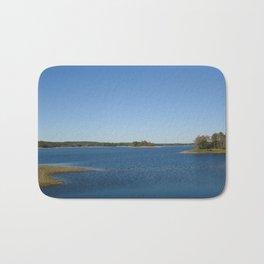 Scituate Reservoir, Rhode Island Photograph #3 by Jeanpaul Ferro Bath Mat