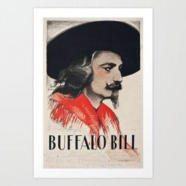 Buffalo Bill Art Print