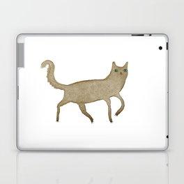 Suspicious-Looking Moggy Laptop & iPad Skin