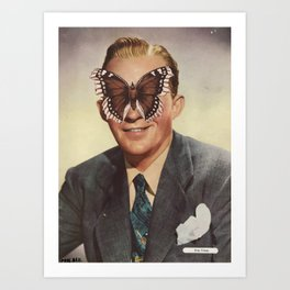 BING CROSBY.  (PIN-UPS). Art Print