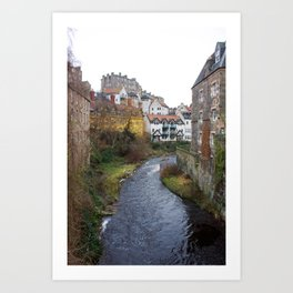 Water of Leith Edinburgh 3 Art Print