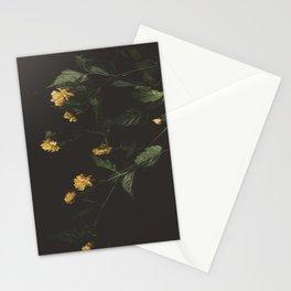 Yellow Night Stationery Cards
