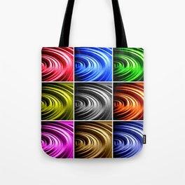 Pop Spin Tote Bag