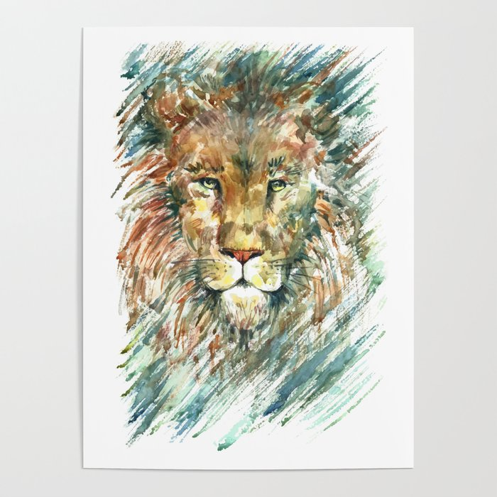 Lion. Poster