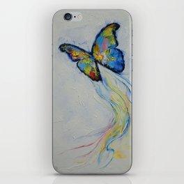 Opal Butterfly iPhone Skin