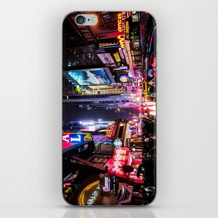New York City Night iPhone Skin