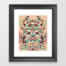 Tribal Technology 1 Framed Art Print