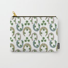 Horseshoes & Clovers Carry-All Pouch