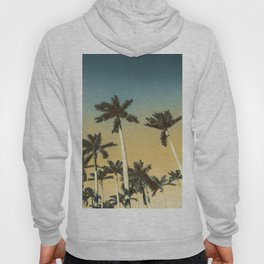 Palms and clear skies Hoody