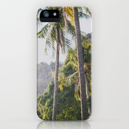 Palm Trees in Thailand iPhone Case
