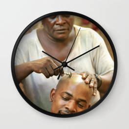 shave Wall Clock