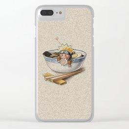 Naruto Ramen Clear iPhone Case