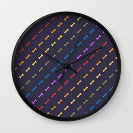 Rainbones Wall Clock