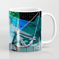 sailing Mugs featuring Sailing by Robin Curtiss