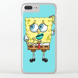Uhrr Spongebob Squarepants Clear iPhone Case