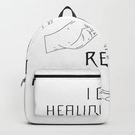 Healing Hands | Reiki Therapy Esoteric Gifts Backpack