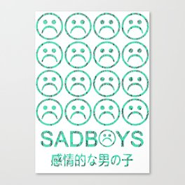 SadBoys Canvas Print