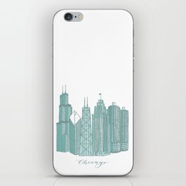 Chicago Architecture iPhone Skin