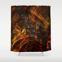 Rough Around The Edges Shower Curtain
