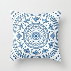 Persian folk Throw Pillow