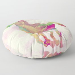 Abstract horse Floor Pillow