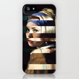 "Vermeer's ""Girl with a Pearl Earring"" & Grace Kelly iPhone Case"