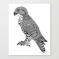 falcon Canvas Prints featuring Falcon by LegendOfZeldy